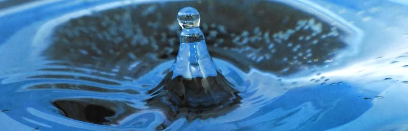 Homepage Slider Water Drop